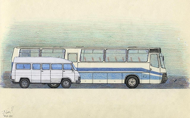 RocarDesign - romanian buses and trolleys - history